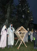 Marie s Josefem strážili jesličky s Ježíškem