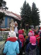Mikuláš četl s nebeské knihy malé hříchy dětí :-)
