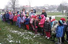 děti společně zazpívaly koledu
