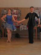 Nelinka a Adam v rytmu latinských tanců
