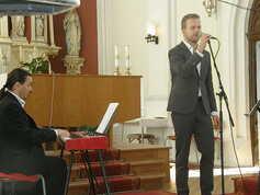 Martin Chodúr s doprovodem