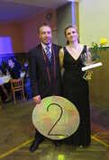 2. místo Lukáš a Gabriela Silberovi