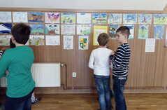 obrázky dětí ZŠ na téma Cyklocap